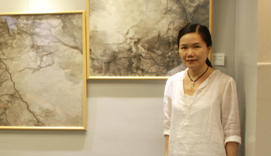 香港當代水墨畫畫家 - 李麗芬